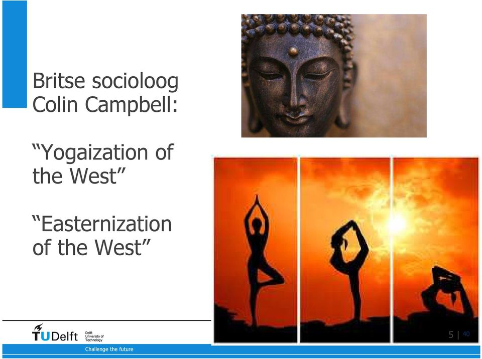 Yogaization of the