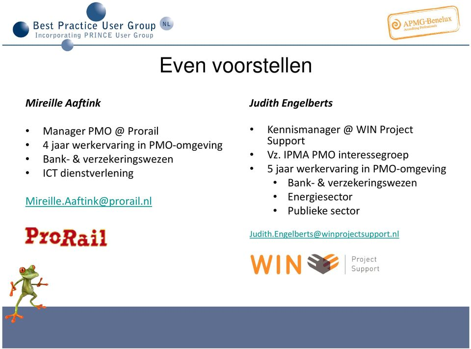 nl Judith Engelberts Kennismanager @ WIN Project Support Vz.