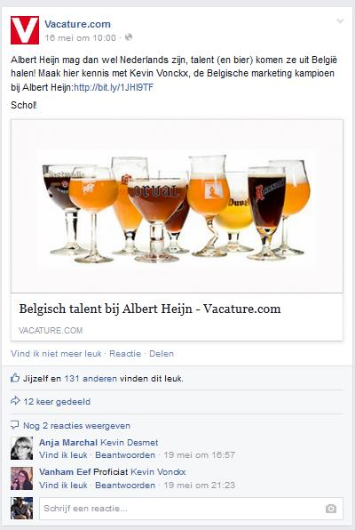 Vacature Facebook Community Employer