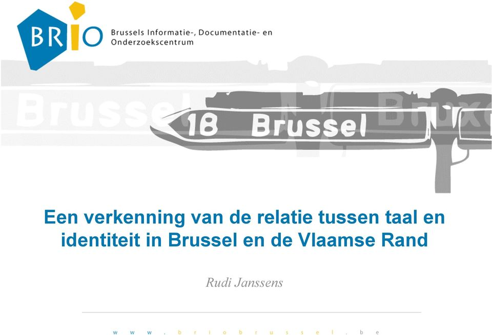 identiteit in Brussel en