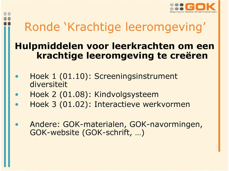 10): Screeningsinstrument diversiteit Hoek 2 (01.