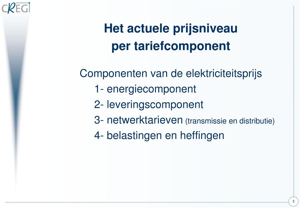 energiecomponent 2- leveringscomponent 3-
