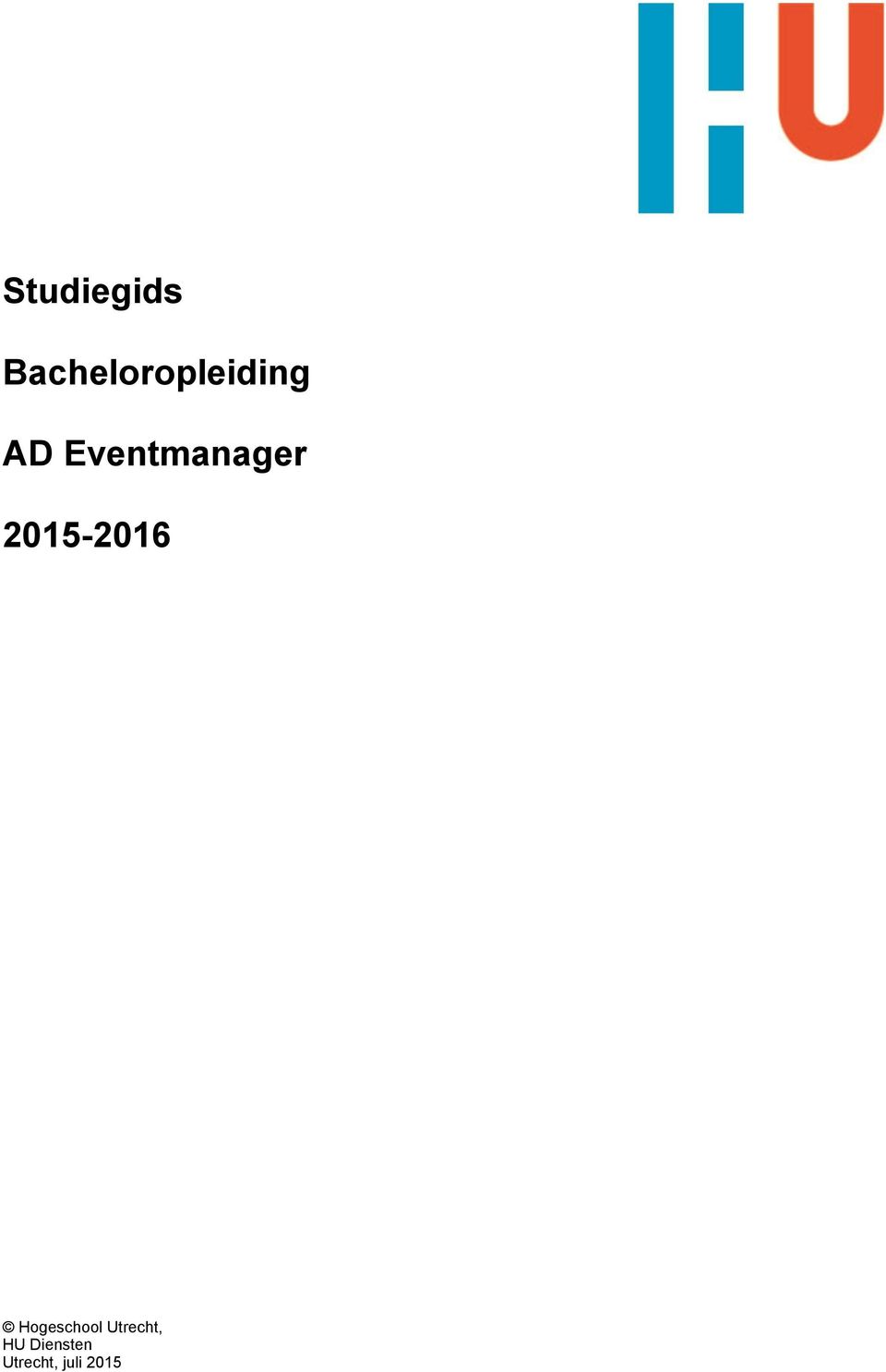 Eventmanager 2015-2016