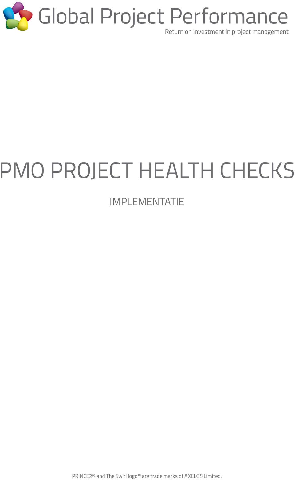 CHECKS IMPLEMENTATIE PRINCE2 and