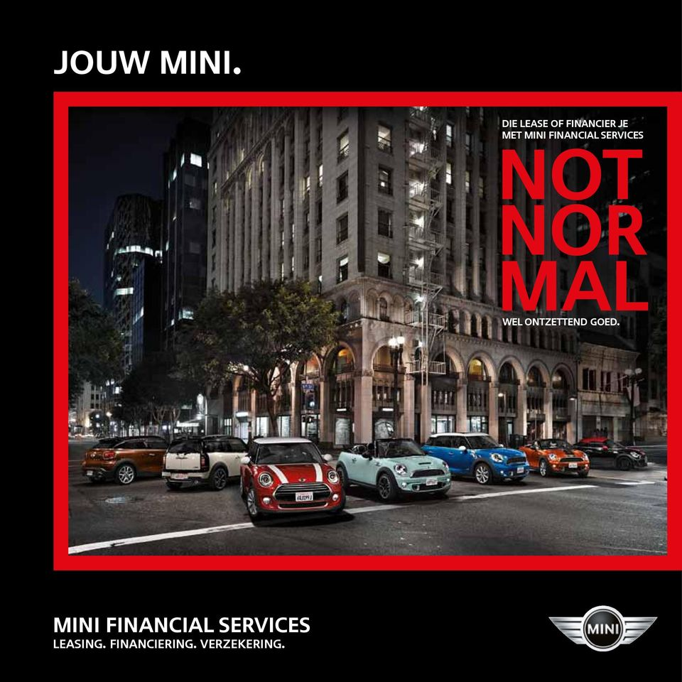 FINANCIAL SERVICES NOT NOR MAL WEL