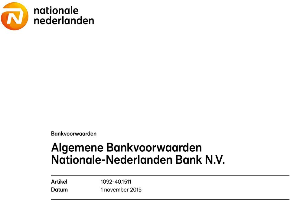 Nationale-Nederlanden Bank N.