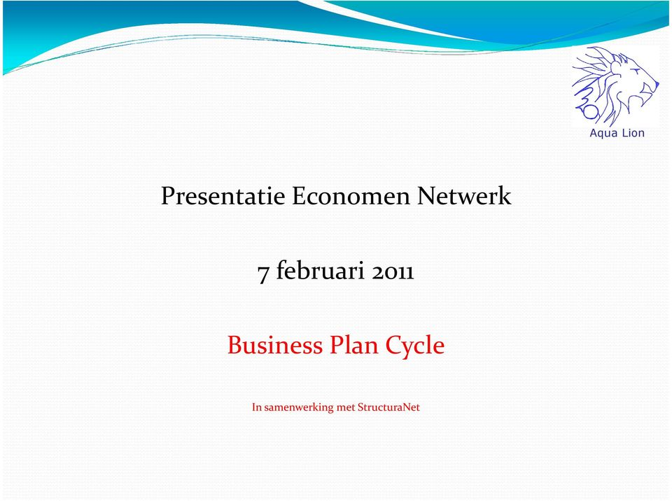 Business Plan Cycle In