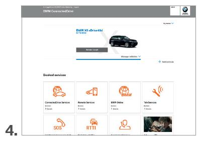 BMW CONNECTED IN DE CONNECTED DRIVE PORTAL ACTIVEREN.