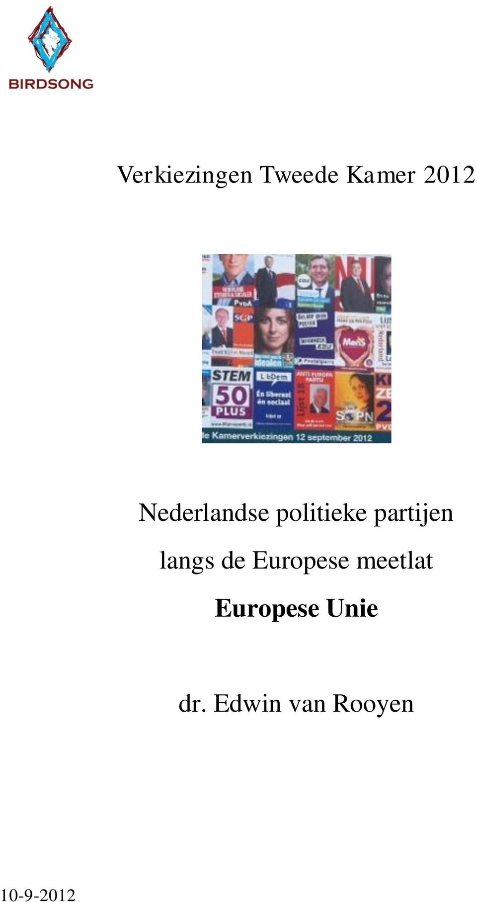 langs de Europese meetlat