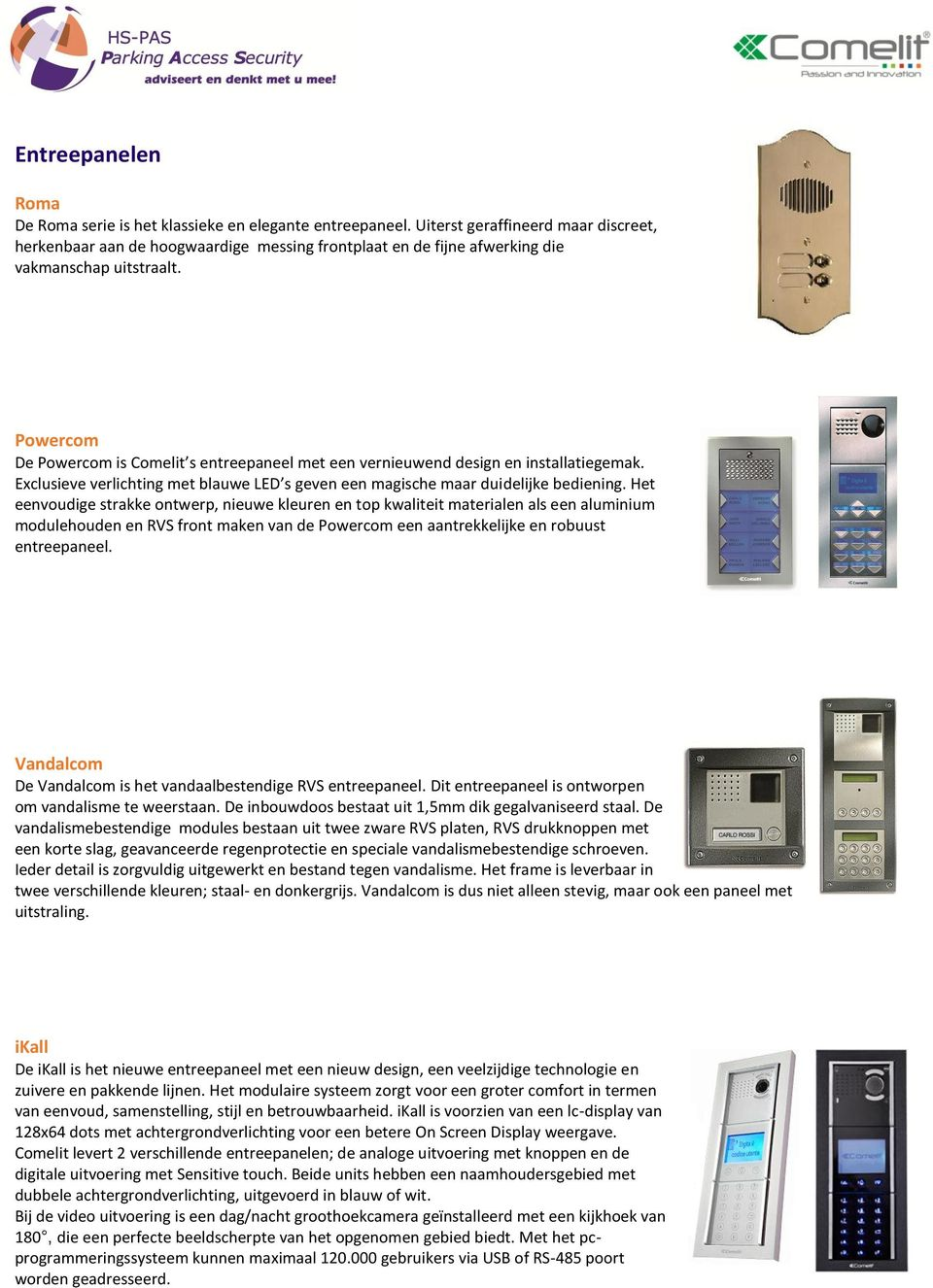 Product catalogus video intercom pdf - Catalogus personeel decor pdf ...