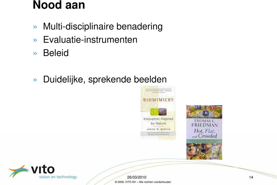 Evaluatie-instrumenten»
