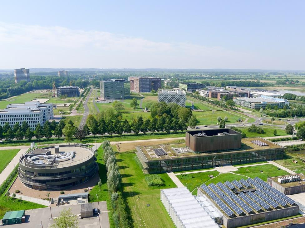 Wageningen Campus in een ecosysteem.