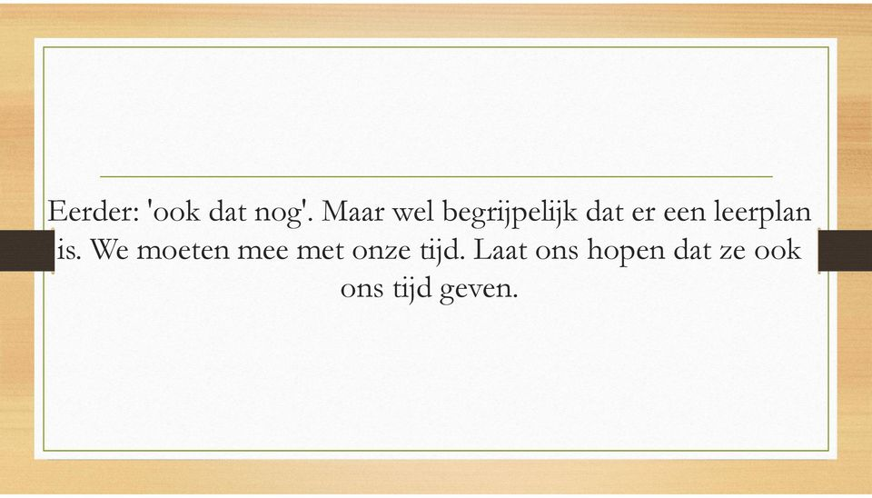 leerplan is.