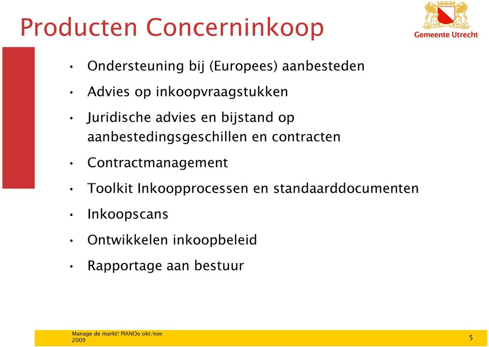 aanbestedingsgeschillen en contracten Contractmanagement Toolkit