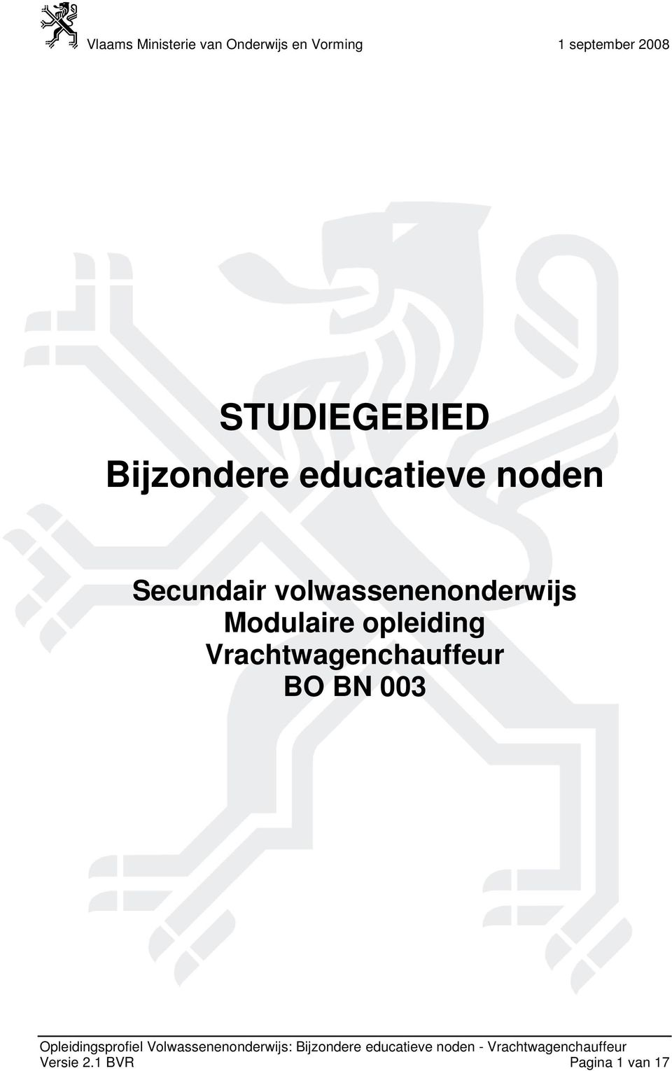 Modulaire opleiding