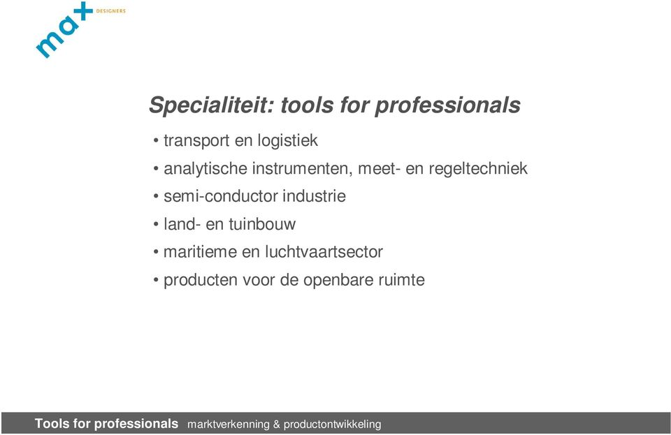 regeltechniek semi-conductor industrie land- en