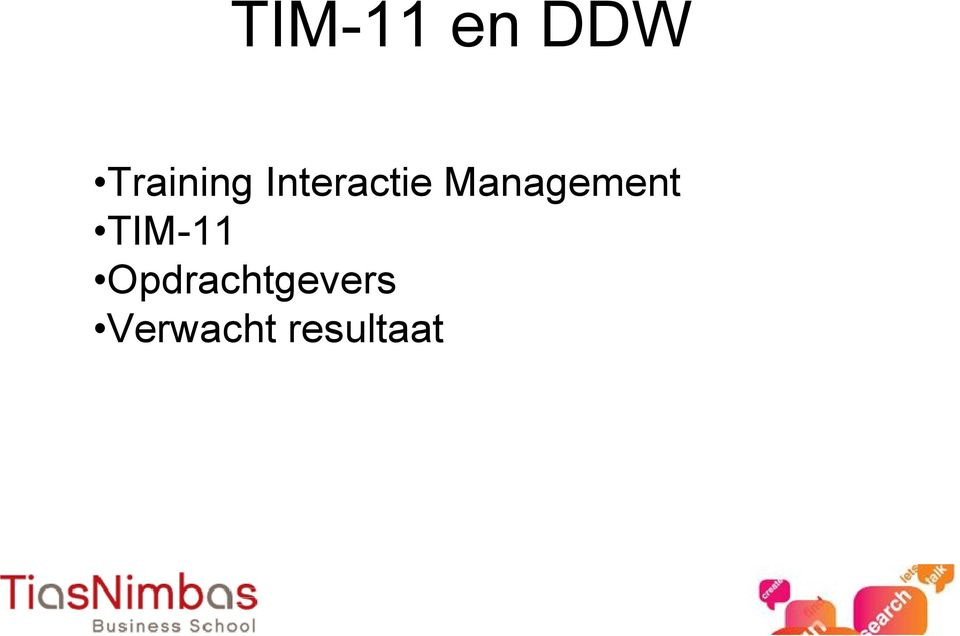 Management TIM-11