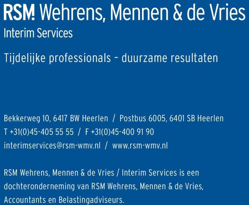 interimservices@rsm-wmv.