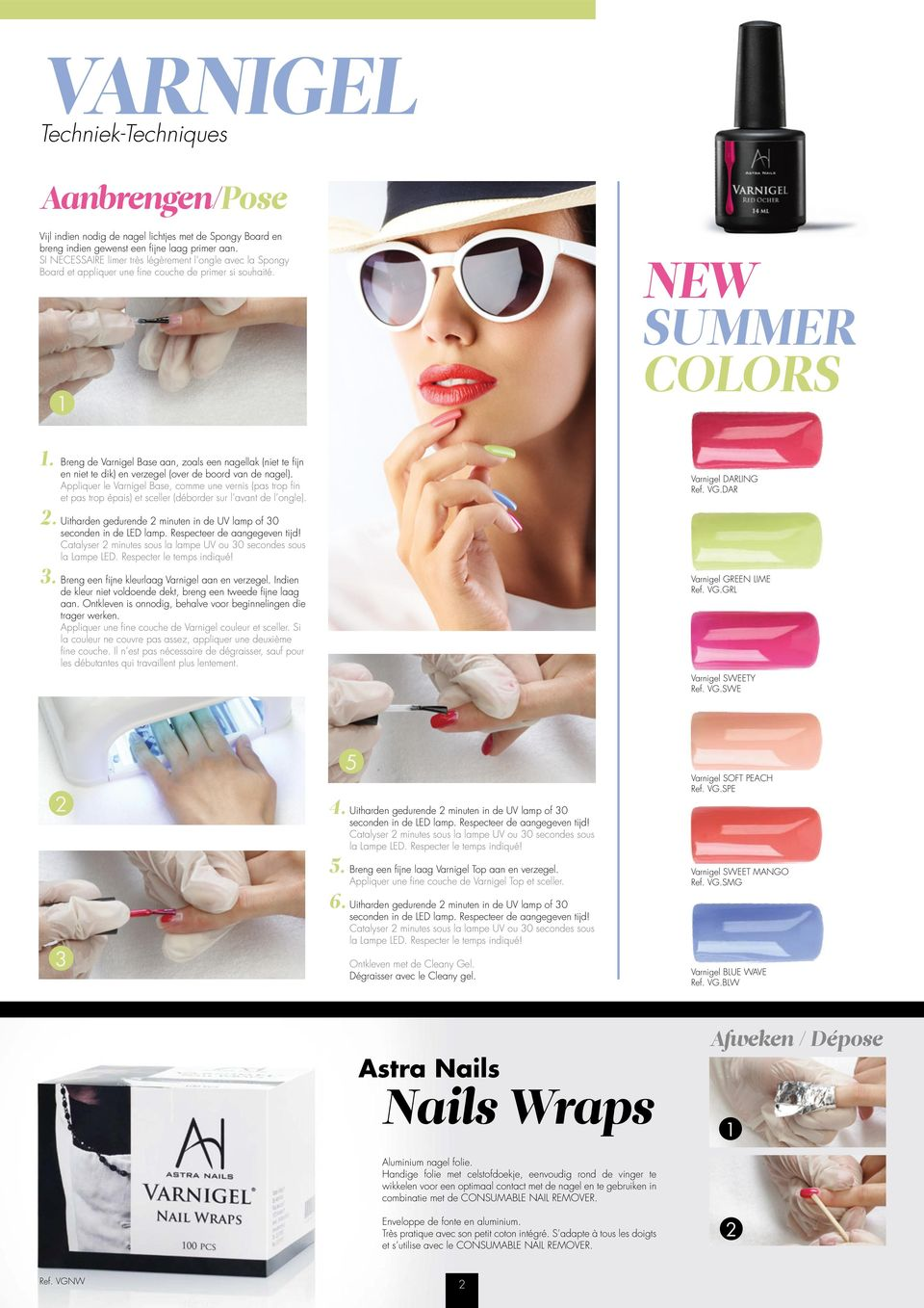 Astramag. U-Peel. Step NEW COLORS. step. PERFECT BUILDER Win tijd en ...