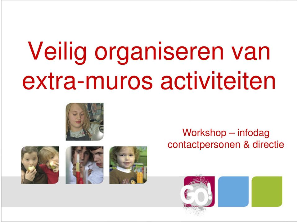 Workshop infodag