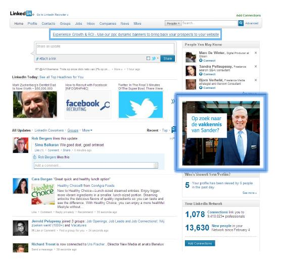 LINKEDIN DISPLAY ADVERTISING