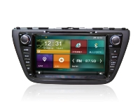"Autoradio GPS DVD Bluetooth DVB-T TV 3G/4G/WiFi Suzuki S-Cross Autoradio Suzuki S-Cross 3G/4G/WiFi Touch Screen 8"" HD 800X480 DVD - GPS -DVB-T IPOD - SD UBS - FM - RDS Bluetooth - Mirror Link - TMPS"