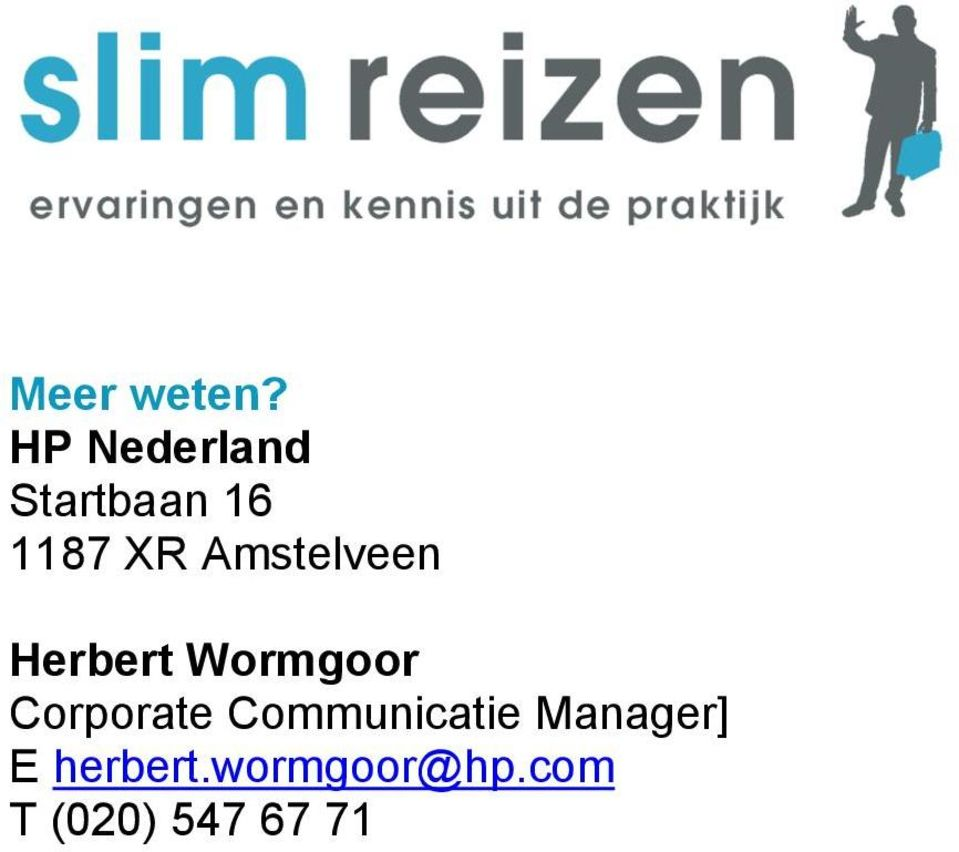 Amstelveen Herbert Wormgoor Corporate