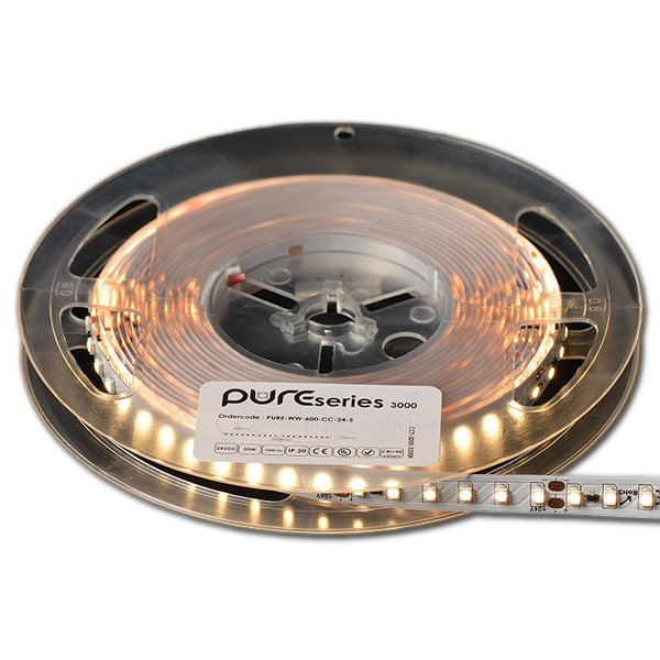PURE SERIE Single Color LED strip, 5000 x 10 x 3 mm LED SMD3528PRO, 50.