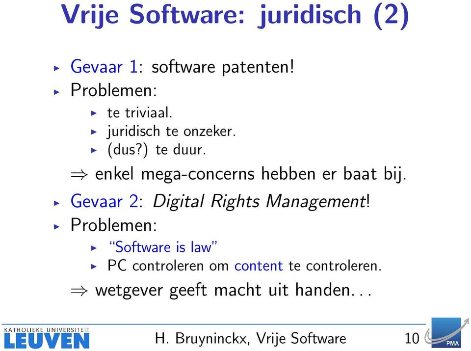 Gevaar 2: Digital Rights Management!