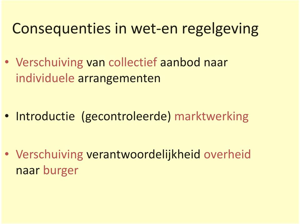arrangementen Introductie (gecontroleerde)