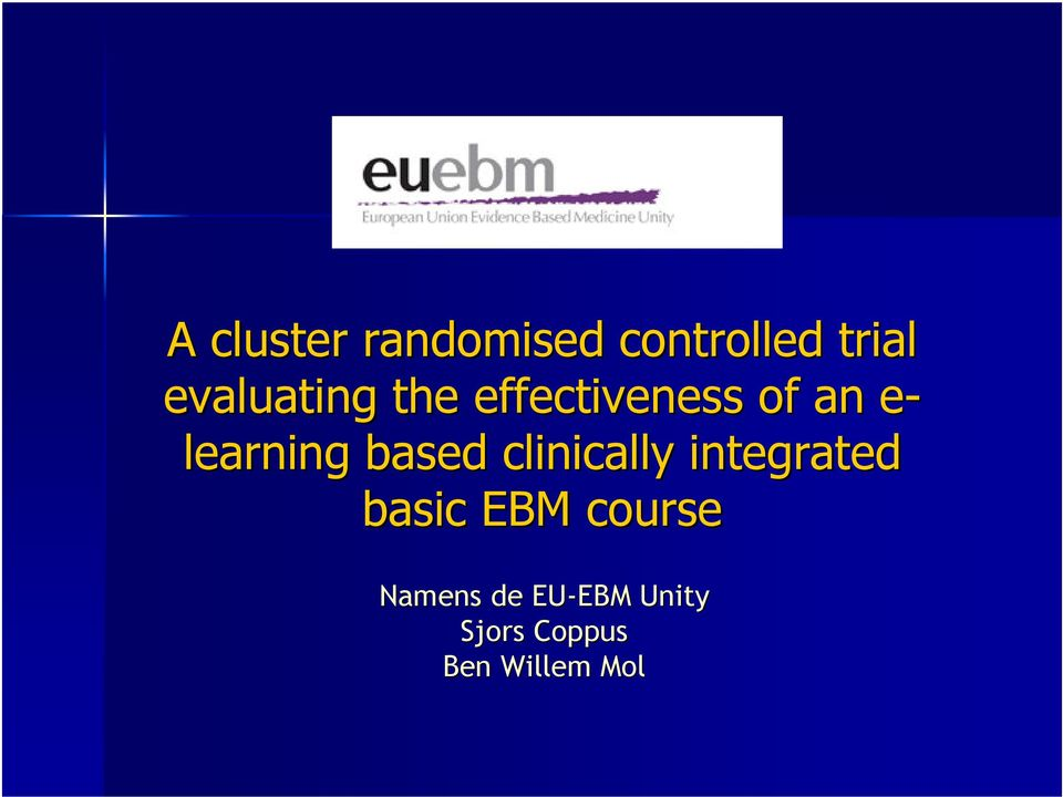learning based clinically integrated basic
