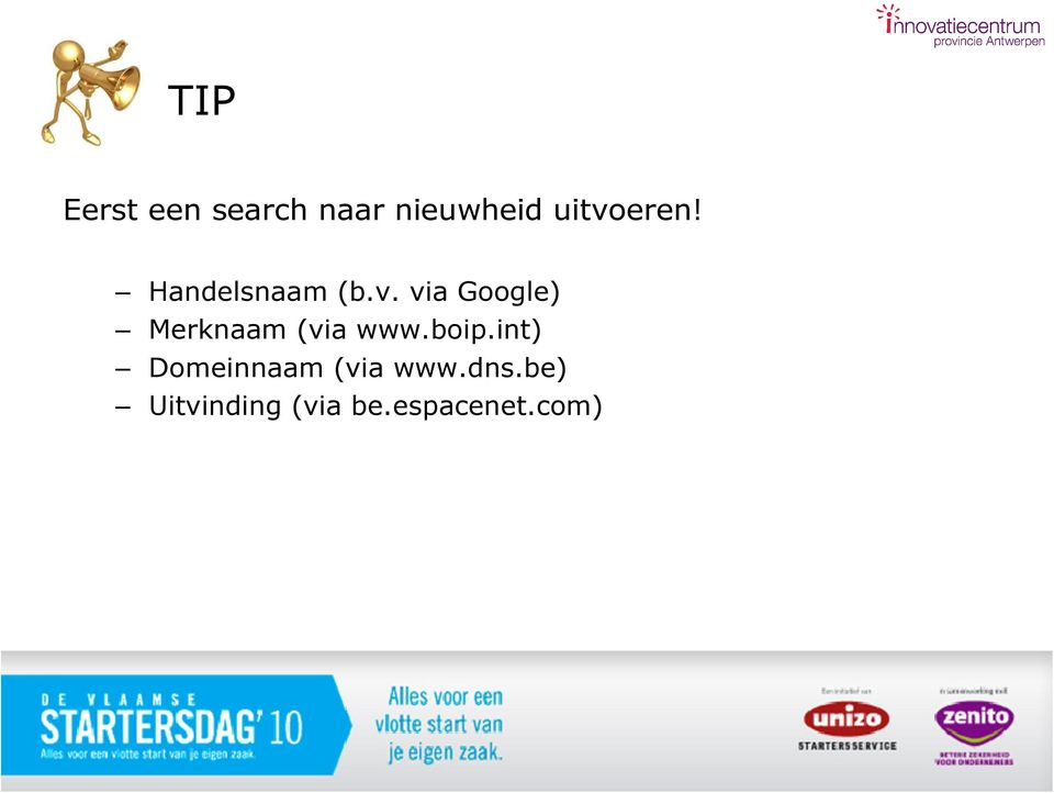 boip.int) Domeinnaam (via www.dns.