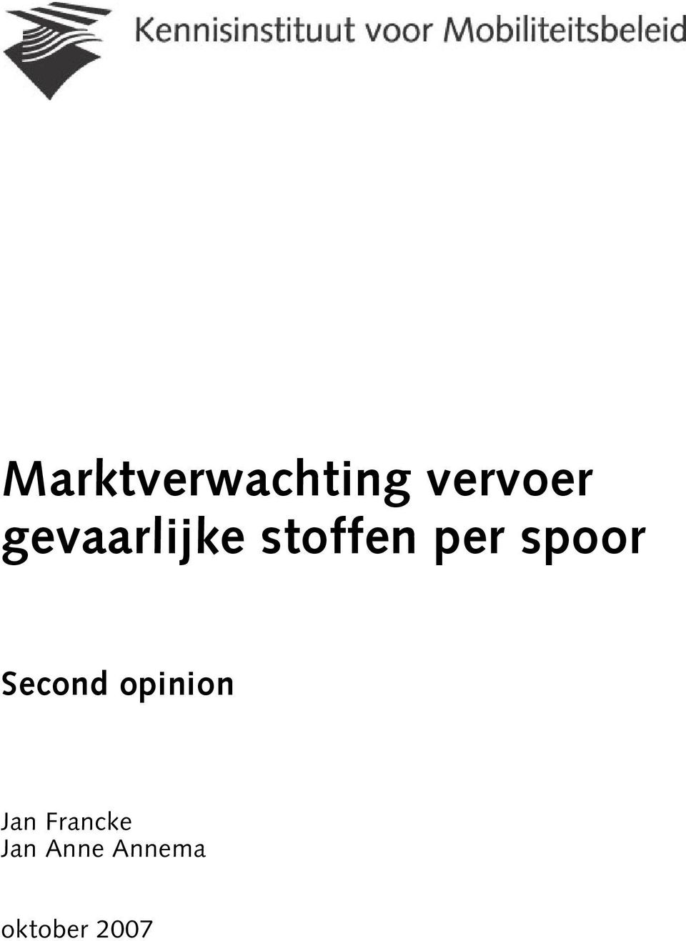 spoor Second opinion Jan
