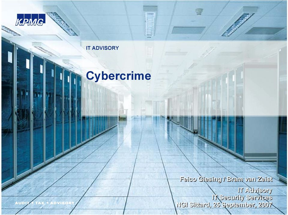Advisory IT Security Services