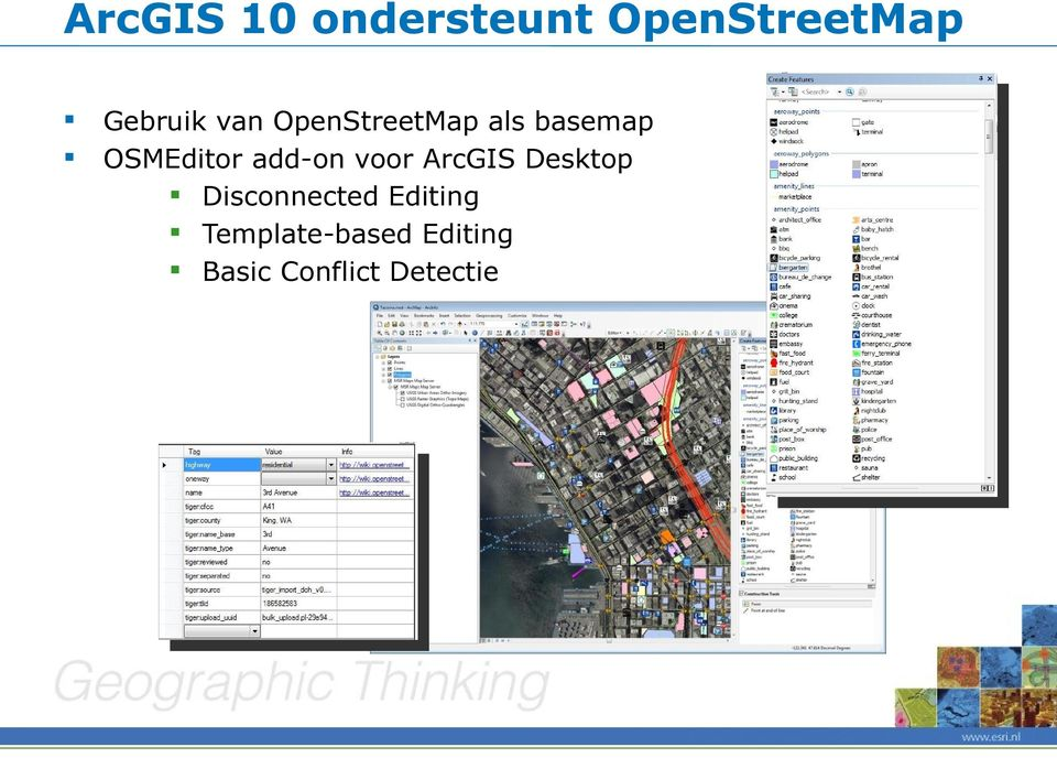 add-on voor ArcGIS Desktop Disconnected