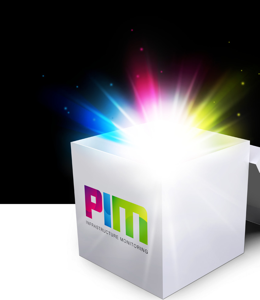 Wat is PIM? PIM staat voor PST Infrastructuur Monitoring. Met PIM realiseert u een volledige monitoring van uw servers, applicaties en netwerkcomponenten in uw IT-infrastructuur.