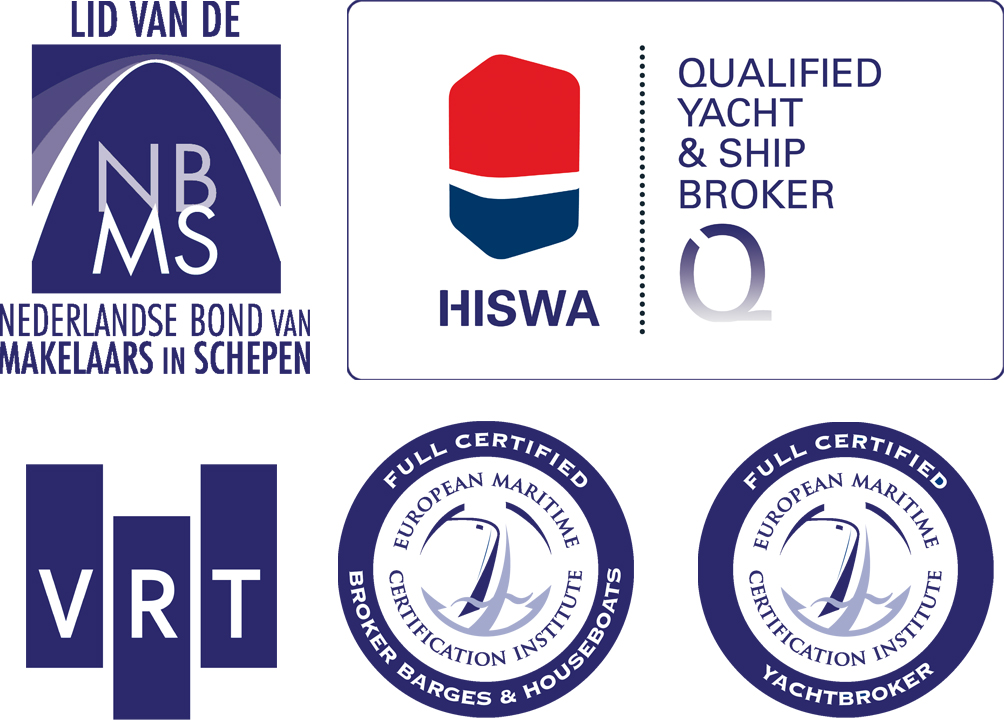 Doeve Makelaars/Taxateurs vof Sworn & EMCI Certificated Brokers & Valuers S&P Yachts & Ships Westhavenkade 87c NL - 3133 AV Vlaardingen Tel Mobiel +31 (0)10 248 98 30 +31 (0)653 20 20 84 E-mail