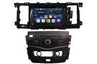 "Car Player GPS TV DVB-T Android 3G/4G/WIF Nissan Patrol 2012-2016 Autoradio GPS Nissan Patrol 2012-2016 Touch Screen 8"" HD 1024X600 UBS - Bluetooth Android 3G/Wifi Referentie:9695PH Spaarpunten"