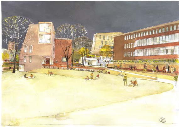 16 Newcastle Masterplan GB, Approach, 2006 17 Campus