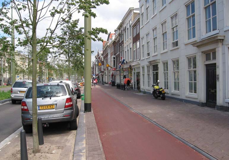 Prinsegracht, after