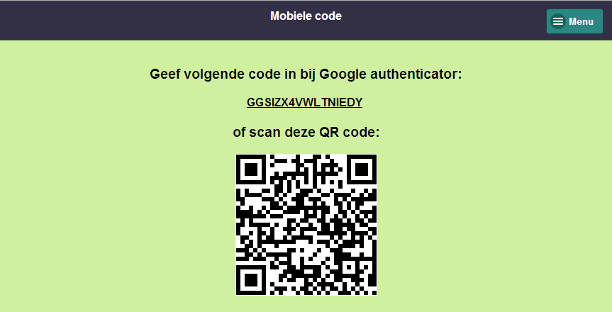 Voor Windows Phone zoek je naar Microsoft authenticator of gebruik volgende URL: http://www.windowsphone.com/nl-be/store/app/authenticator/e7994dbc-23