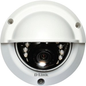 D-Link DCS-6315 Network Camera The D-Link DCS-6315 HD Outdoor Fixed Dome Camera with Color Night Vision is a high defini on professional surveillance and