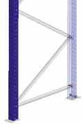 DIMENSIONS An XS frame consists of two XS uprights and their corresponding bracing profiles, AND COMPONENTS upright base plates and fixing elements (bolts,