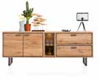 Highboard DENMARK 110 x 140 cm met LED
