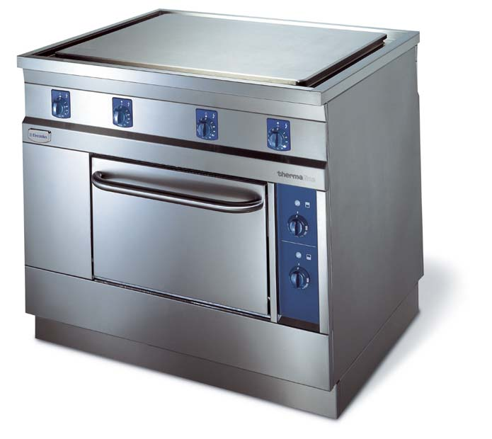 The Electrolux 900-Thermaline of cooking equipment is designed for the very heavy duty requirements of hotels, institutions, hospitals, central kitchens, in-flight kitchens and cruise ships.
