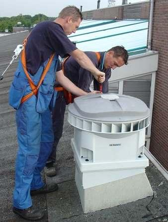 : Ventilatie Warm tapwater Be- en