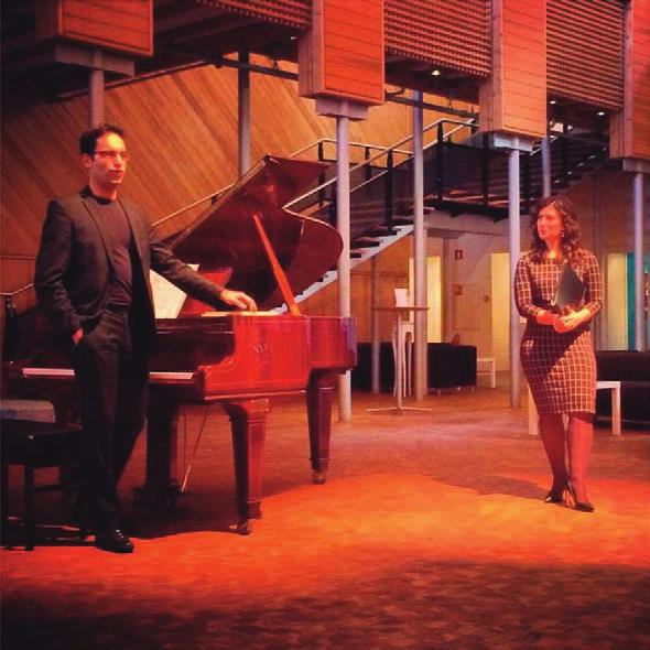 Podium 18 november 2015 Lunchconcert Duo Vert Obscur In