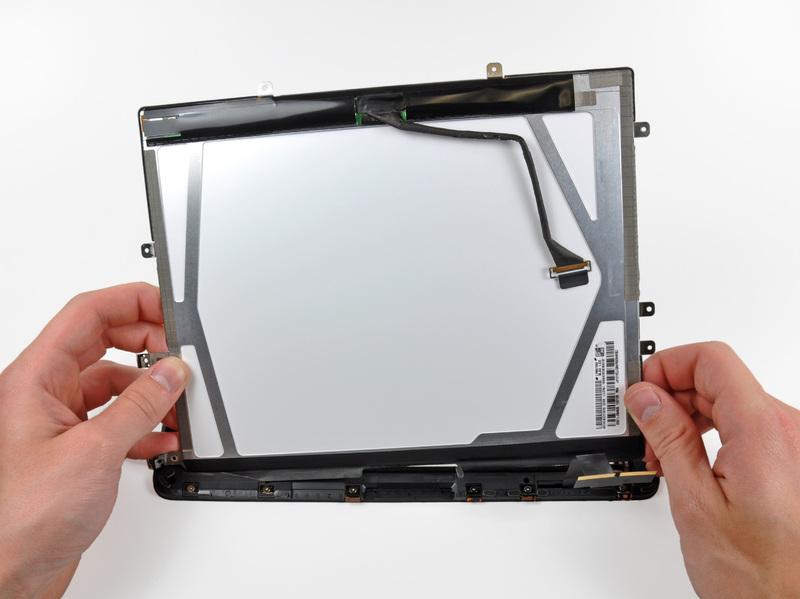 het display frame.