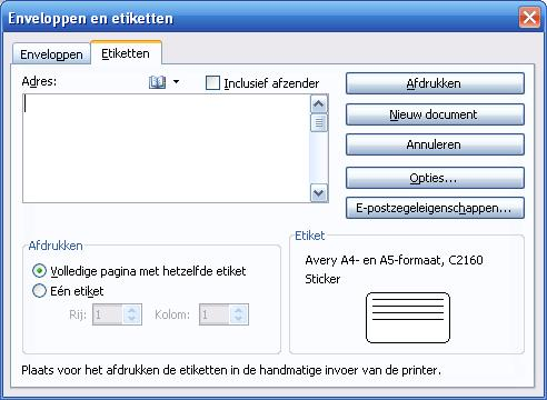 Microsoft Word Open Microsoft Word 1 en begin met een nieuw, leeg document.