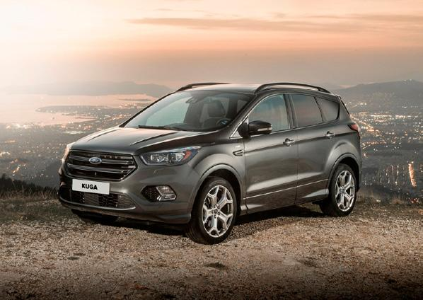 NEW KUGA TREND 1.5i EcoBoost 120pk 5d Auto-Start-Stop M6 FWD NEW KUGA ST-LINE 1.